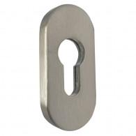 FELGNER Schutzrosette 4100 PZ - Schieberosette aus Edelstahl für Profilzylinder 9 mm