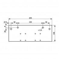 DORMA Flachplatte TS 83/ TS 73