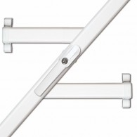 ABUS Fenster-Stangenschloss FOS 550 in weiß