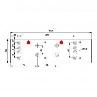 DORMA Montageplatte TS 71 / TS 72