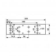 DORMA Montageplatte TS 73