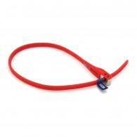 ABUS MultiZip wiederverwendbarer Kabelbinder rot