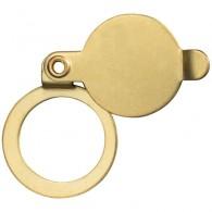 ABUS Sichtschutzblech für Türspione 2200 und 1200-messing