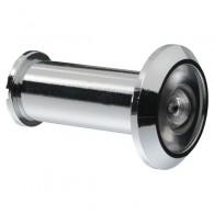 ABUS Türspion 1200 - mit Weitwinkeloptik ( 200 Grad )-silber