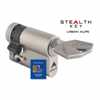 UrbanAlps Stealth Key Halbzylinder