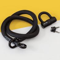 tex–lock Fahrradschloss eyelet inkl. Mini-Bügelschloss