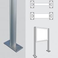 WSM - Ständer 80 x 40 zum Aufdübeln