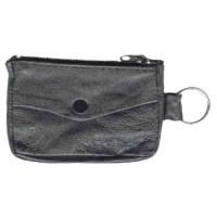 Reiher Schlüsseltasche aus Leder mit Schlüsselring