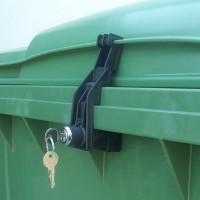 CTS Müllcontainerverschluss - für Otto-Flachdeckel - bis 1100 l