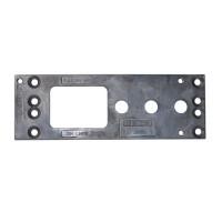 GEZE Montageplatte TS 2000 silber