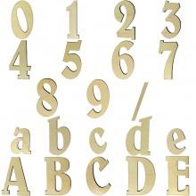 Hausnummer Belwe aus Holz