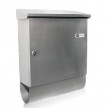 JU Wandbriefkasten 220 mit Zeitungsbox