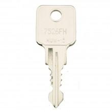 HUWIL Ersatzschlüssel nach Nummer