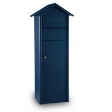 MEFA Pine - Paketkasten aus Stahl-Stahlblau (RAL 5011)