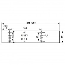 DORMA Montageplatte TS 83