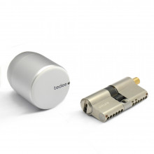 tedee-Schloss + ABUS Bravus.2500 MX Magnet Doppelzylinder