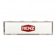 RENZ Namensschildabdeckung mit Namensschildeinlage 97-9-82146