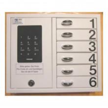 CREONE Zubehör für KeyBox Ziffernsatz 1-6 Beispiel