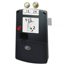 SAG Kassierschloss Safe-O-Mat mit großer Geldkassette