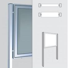 WSM - Ständer 80 x 40 zum Einbetonieren