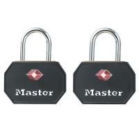 Master Lock 2er Set TSA Vorhangschloss 4681