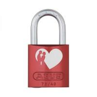 """ABUS Vorhangschloss - Love Locks 72/40 """"Herz mit Pärchen"""""""