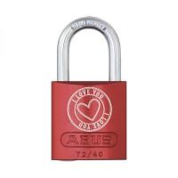 "ABUS Vorhangschloss - Love Locks 72/40 ""I Love You"""