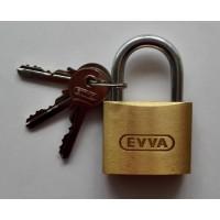 EVVA Messing Vorhangschloss MH 55
