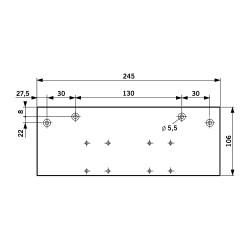 DORMA Flachplatte TS 83 / TS 73