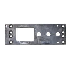 GEZE Montageplatte TS 2000