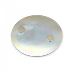 Magnet-Befestigungsset für Rauchwarnmelder Ø70mm