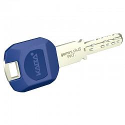 Kaba gemini pluS Schlüssel mit langer Reide und großem Schlüsselclip