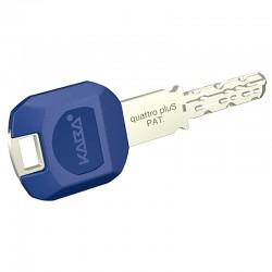 Kaba quattro pluS Schlüssel mit langer Reide und großem Schlüsselclip
