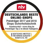 ntv Deutschlands beste Online-Shops 2017-18-19