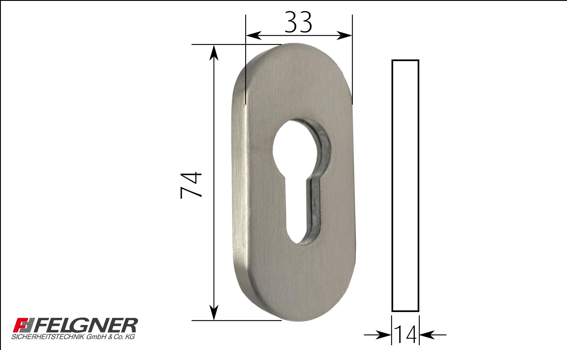 FELGNER Schutzrosetten Tür Sicherheit