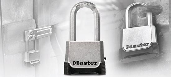 Vorhängeschlösser von Masterlock
