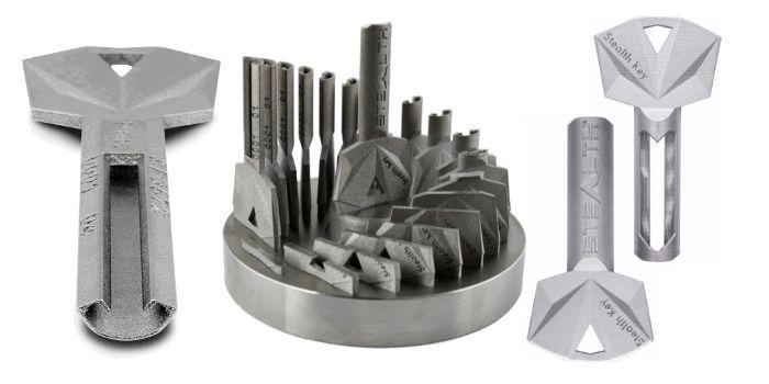 Stealth Key Herstellung und Schnittmodell